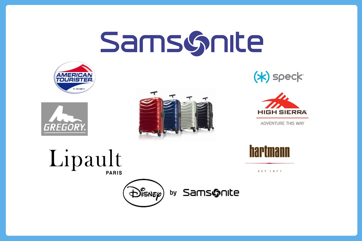samsonite company logos