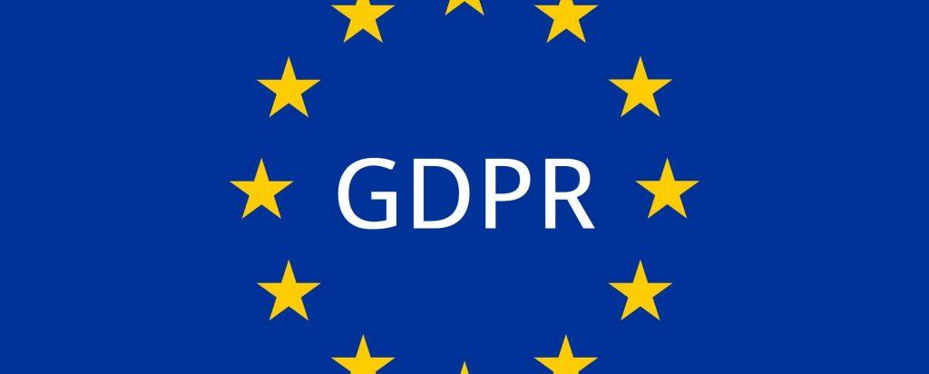 GDPR European flag