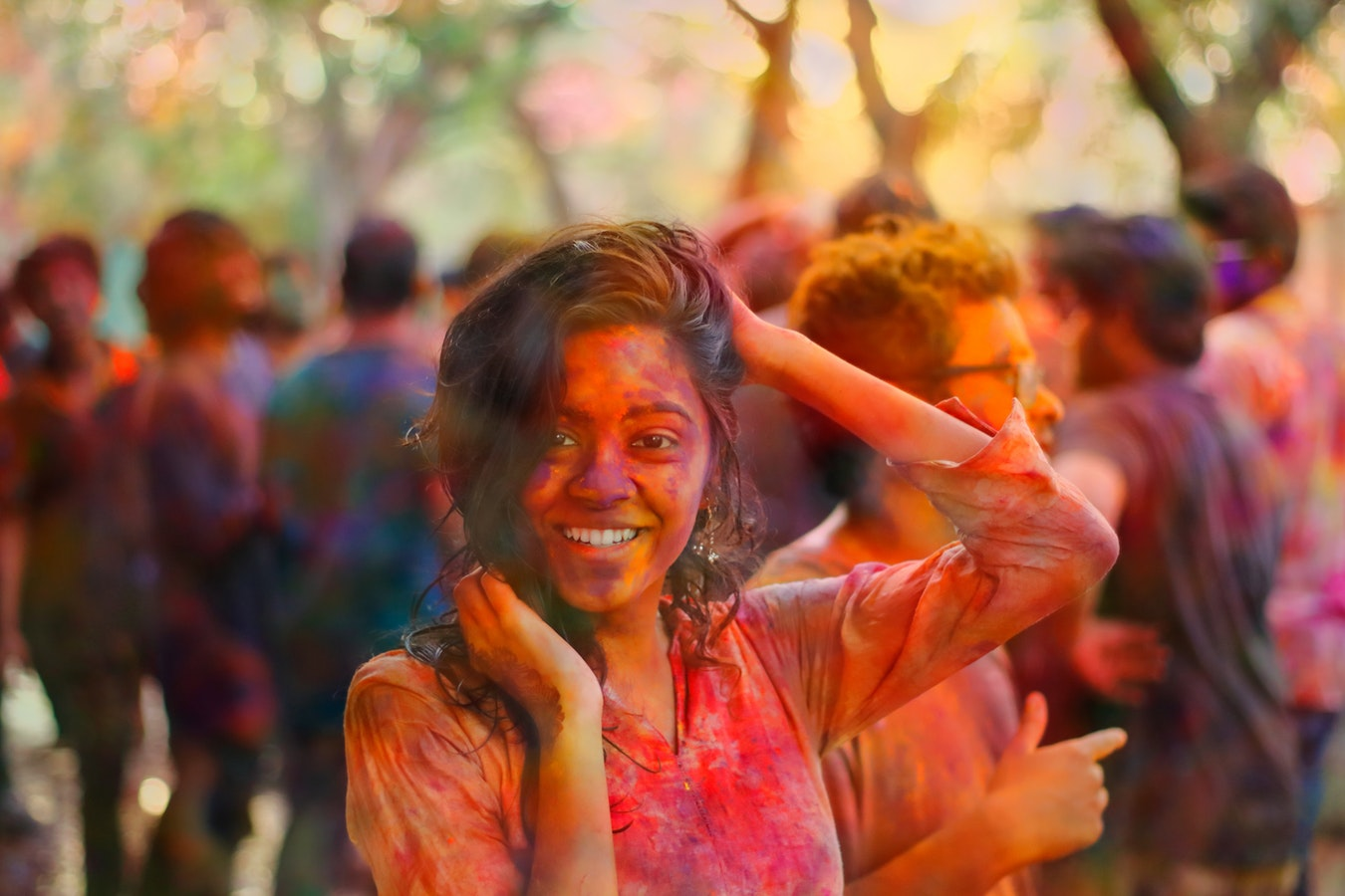 Indian colour girl