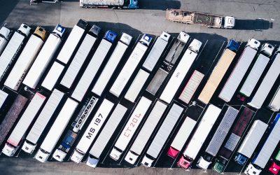 De borgtocht van transportfirma's over de weg