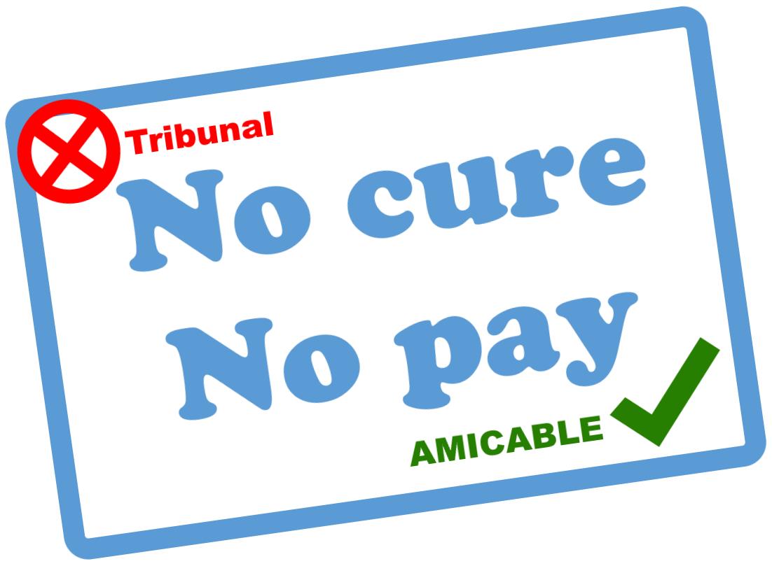 No cure no pay